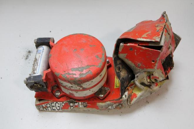 仏航空事故調査局(BEA)が公開した、墜落したジャーマンウィングスの旅客機のブラックボックス