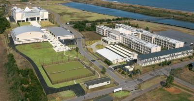 千葉県長生村に開学する、ハッピー・サイエンス・ユニバーシティ(HSU)のキャンパス全景