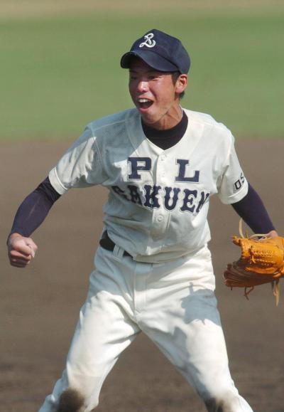 PL学園時代の前田健太投手=2004年7月28日