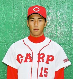 広島時代の黒田博樹投手=1998年