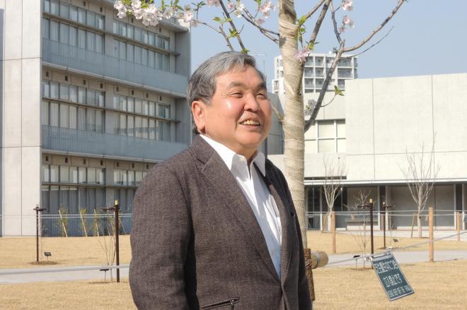 3月末で退任する立教新座中学・高校の渡辺憲司校長