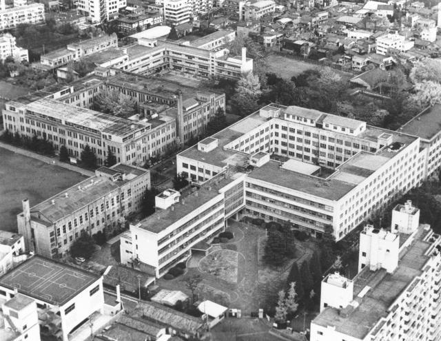 現在の筑波大学である廃校になった東京教育大学=1977年11月29日