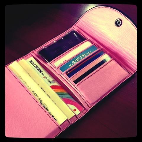 ランドセルをリメイクした財布=レザースタジオ サード提供