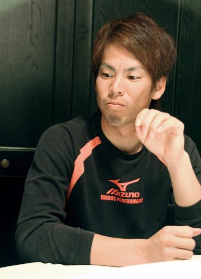 偏食が激しかったころの前田健太投手=2010年11月4日
