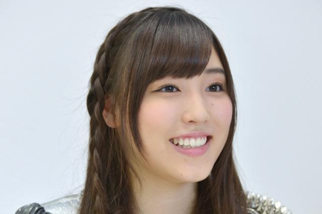 「モーニング娘。'15」(メンバー全13人)の新リーダーを務める譜久村聖=都内で、瀬戸口翼撮影