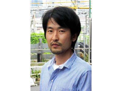 映画「立候補」の藤岡利充監督=2013年6月