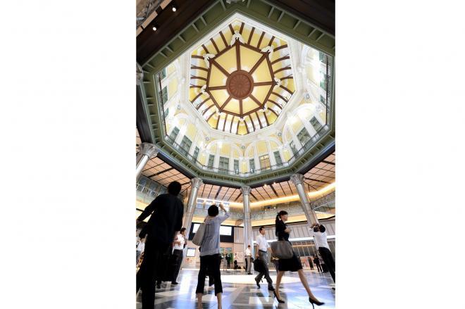 東京駅丸の内駅舎のドーム天井