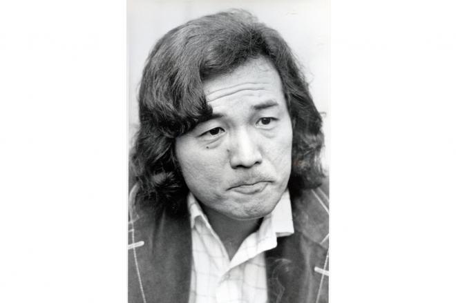 俳優の愛川欽也=1974年4月