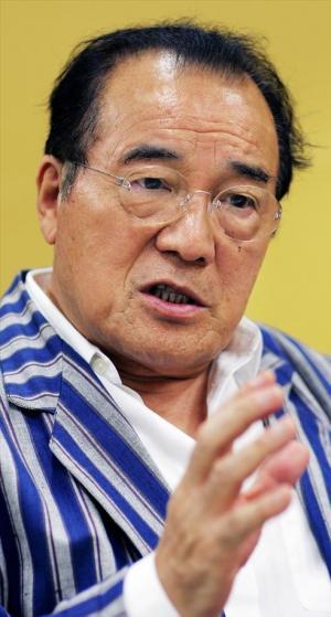 愛川欽也さん=2008年6月
