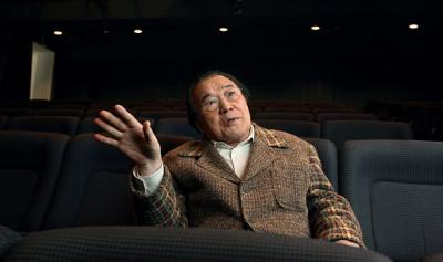 愛川欽也さん=2010年2月