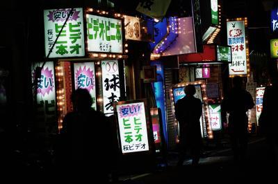 1992年当時の新宿・歌舞伎町