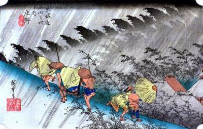 東海道五十三次「庄野」=2014年4月9日