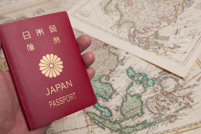 日本のパスポート。「強さ」は8位