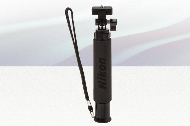 ニコンが開発、発売した自撮り棒「N-MP001 (Selfie Stick)」