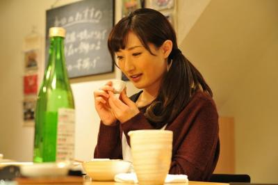 テレビ東京で放送中の「ワカコ酒」。武田梨奈さんが主人公の村崎ワカコを演じる