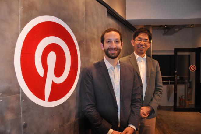 アメリカの本社インターナショナルビジネス部長のマット・クリスタル氏(左)と、日本のカントリーマネージャーの定国直樹氏
