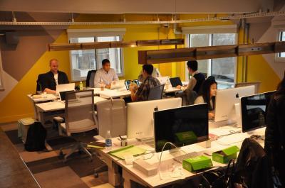 築45年の倉庫兼事務所をリノベーション、中目黒にあるピンタレストのオフィス