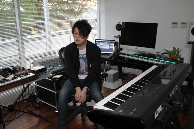 ネットで新曲を発表した渋谷慶一郎さん