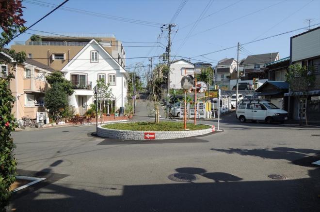 「樹海」と呼ばれる菊名駅周辺の一帯。駅もないのに謎のロータリーが出現する
