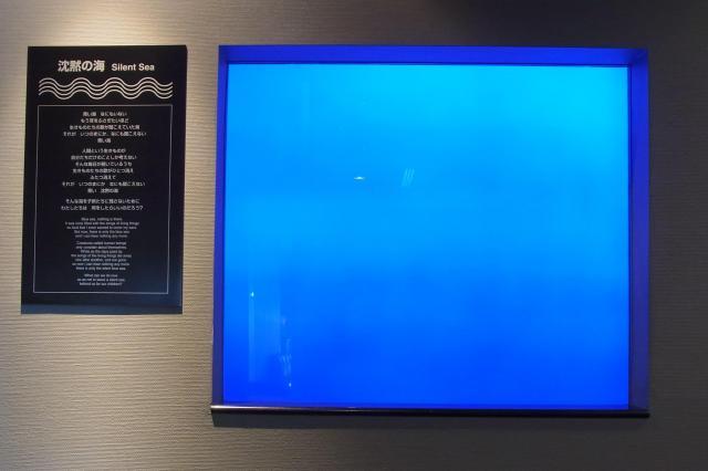どこまでも続くように見える「沈黙の海」