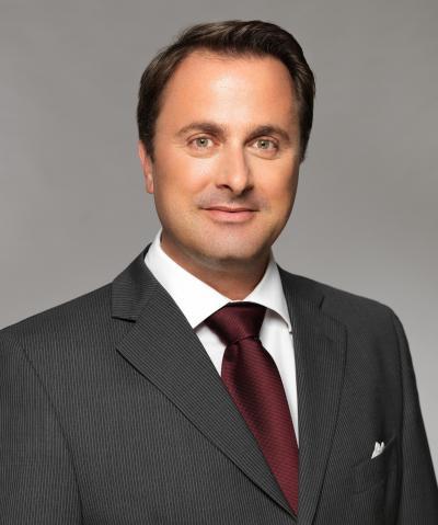 ルクセンブルクのベッテル首相。弁護士資格も持つ=在日ルクセンブルク大使館提供(copyright : 2014 SIP / Yves Kortum)