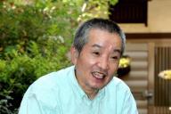 車谷長吉さん=2010年8月17日
