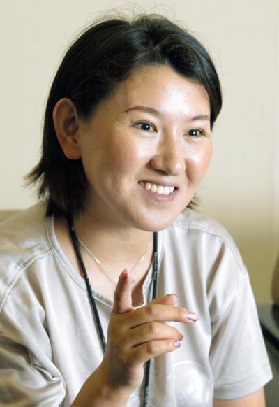 フィギュアスケート選手として活躍した伊藤みどりさん。1992年のアルベールビル五輪女子シングルで銀メダル、1989年の世界選手権で優勝、全日本選手権8連覇など偉業を残した=2005年撮影