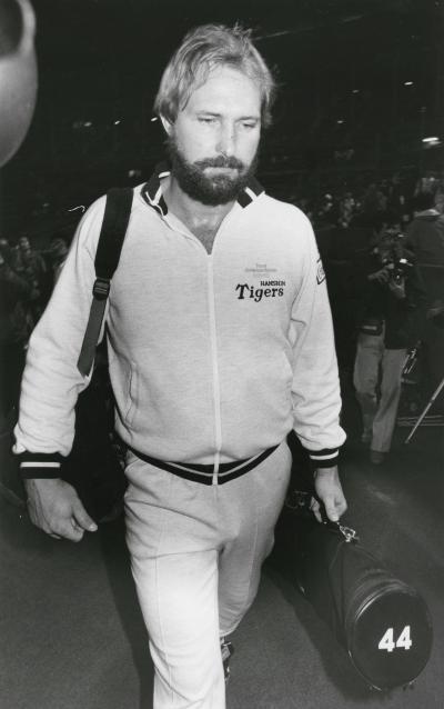 ランディ・バース選手=1986年6月27日