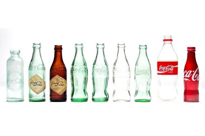 コカ・コーラの歴代ボトル