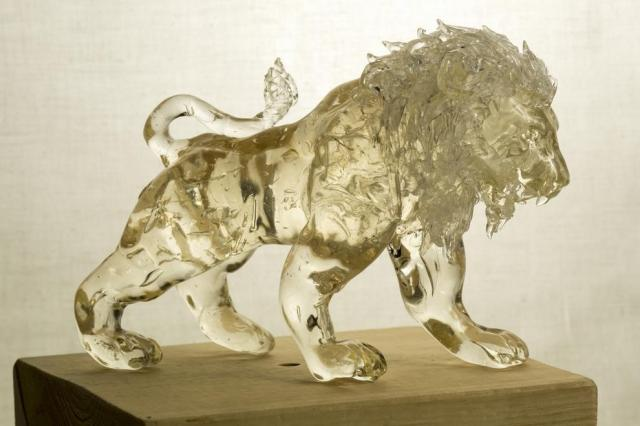 飴細工の「ライオン」