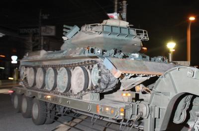 陸自隊員時代、今井雅之さんが操縦していた74式戦車