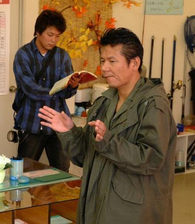 今井雅之さん=2003年10月16日