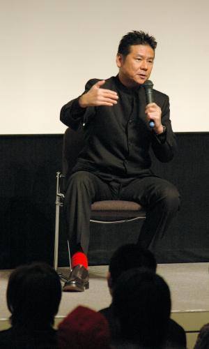 今井雅之さん=2006年2月18日