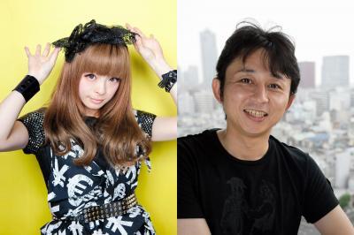 日本のツイッターフォロワー、トップの有吉弘行(右)と、2位のきゃりーぱみゅぱみゅ