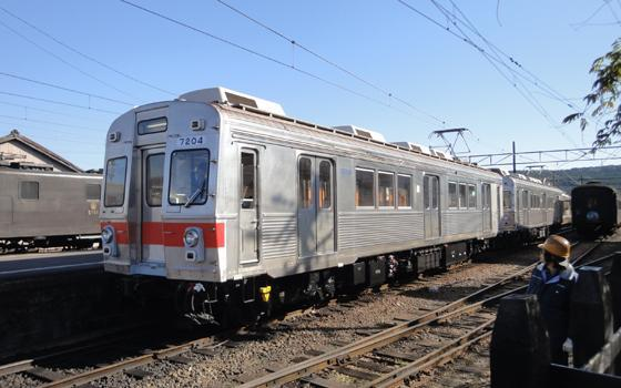 大井川鉄道の7020系電車
