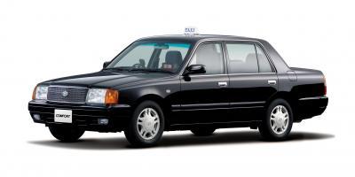 トヨタが生産打ち切りを決めているタクシー向け「コンフォート」