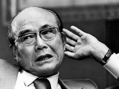 ホンダ創業者の本田宗一郎氏=1976年4月26日