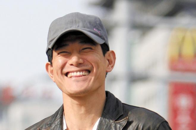 中国ドラマで活躍する日本人俳優、矢野浩二さん=2011年8月21日