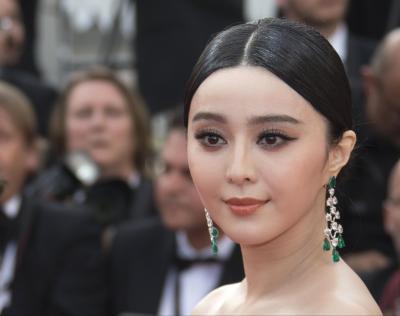 「武媚娘伝奇」で注目された女優、ファン・ビンビン(范冰冰)=ロイター