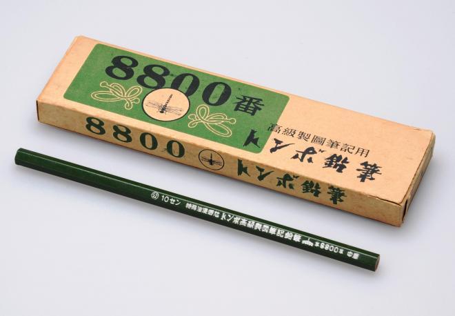戦時中にHBを「中庸」と表記して販売していたトンボの鉛筆