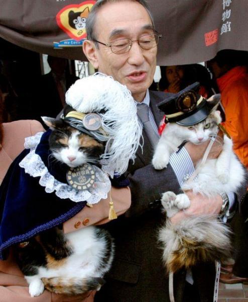 2012年1月5日 部下の「ニタマ」が就任=和歌山県紀の川市