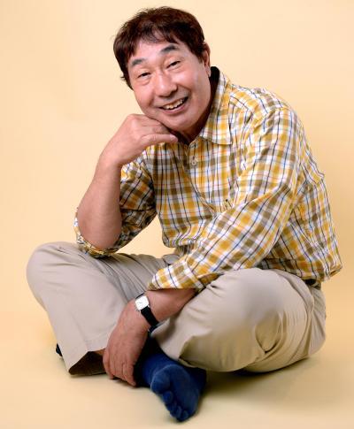 蛭子能収さん=2015年6月10日、山本和生撮影