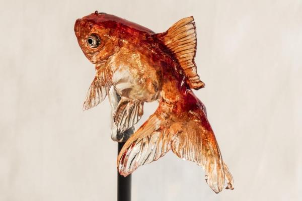 飴細工の「金魚」