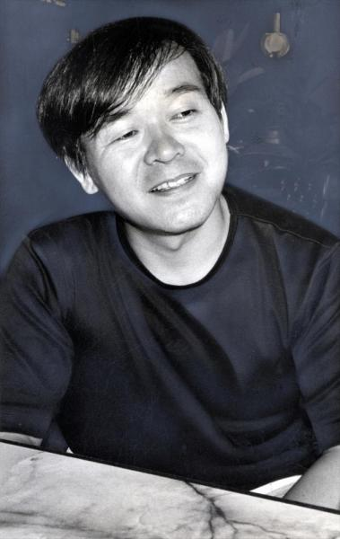 ガンダムの作画監督をつとめた安彦良和さん= 1985年9月