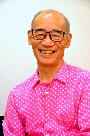 ガンダムの富野由悠季総監督=2014年8月