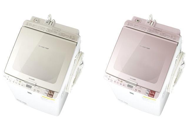 シャープが発売した新型の洗濯乾燥機
