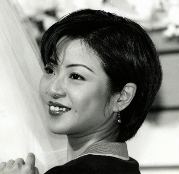 松本明子さん=1996年12月