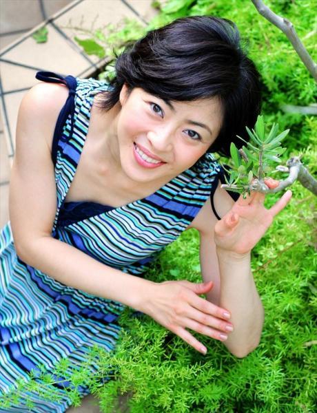 松本明子さん=2008年7月