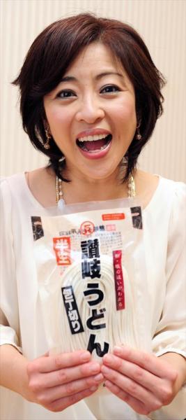 松本明子さん=2010年5月