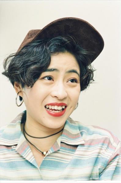 松本明子さん=1992年9月